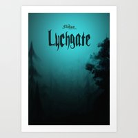 book cover Art Prints featuring Lychgate Book Cover 2.0 by SireneEntertainment