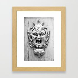 Goblin Door  Framed Art Print