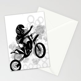 Vector Bike Stationery Cards