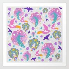 going pink Art Print