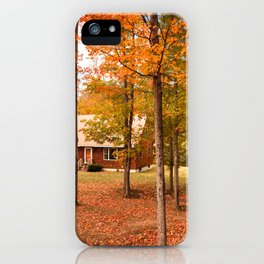 house in vermont iPhone Case