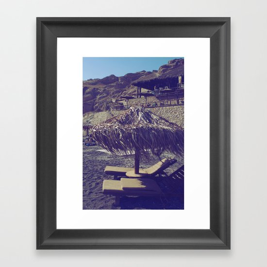 Private Paradise II Framed Art Print