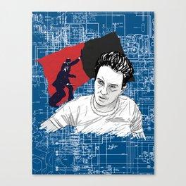 Joe Strummer: Sandinista/The Clash Canvas Print