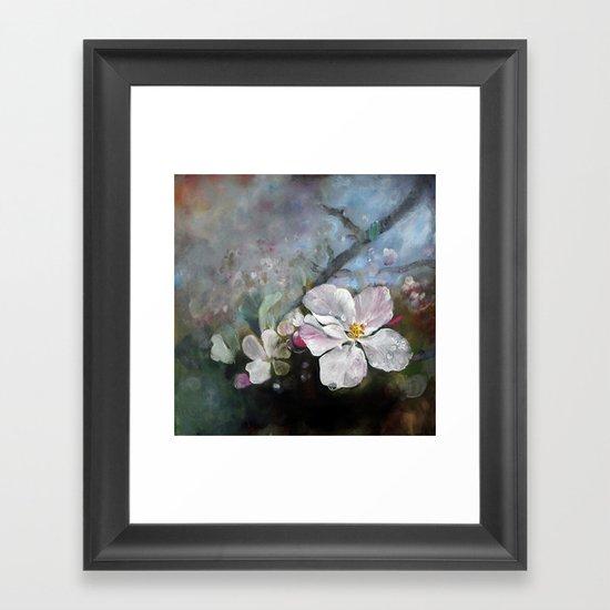 Appleblossom Framed Art Print