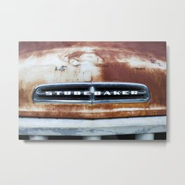 Rusty Studebaker Metal Print