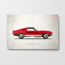 The Shelby Mustang GT500 KR Metal Print