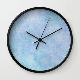 Pretty blues Wall Clock
