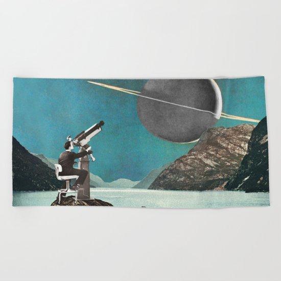 The Astronomer Beach Towel