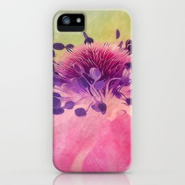 Flat Flower Cartoon iPhone Case