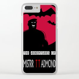 The Adventures of Mistrr TT Admond Clear iPhone Case