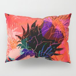 Floral constellation Pillow Sham