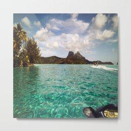 Bora Bora Tahiti, Take Me on a Jet Ski Metal Print