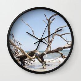 Driftwood Tree Wall Clock