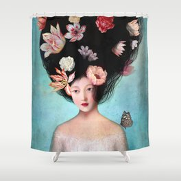 The Botanist's Daughter Shower Curtain