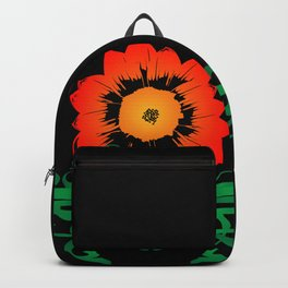 Colorful Flower Backpack