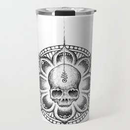 Enlightened Skull Travel Mug