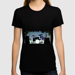 Bright Rock Band Stage T-shirt
