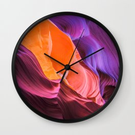 Anelope Canyon Wall Clock