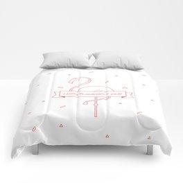 i love flamingo y ¡olé! Comforters