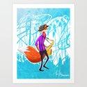 Sly the Fox by adamuhlig