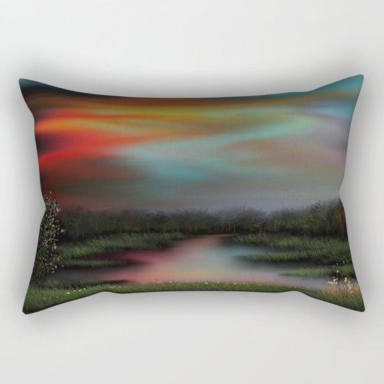 Colorful Sky Rectangular Pillow