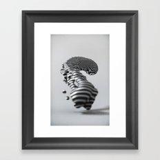 nFLOW Framed Art Print