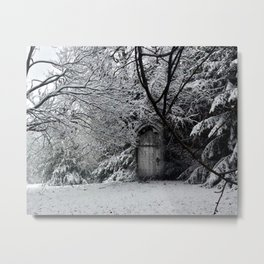 Castles in the Garden (#4) Metal Print