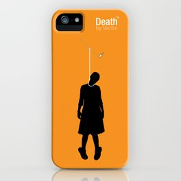 Death by Vector iPhone Case
