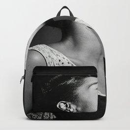 Billie Holiday Print , Jazz Artist 1940, Vintage Photo , Premium Quality Print. Backpack