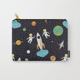 A Walk in Space Carry-All Pouch
