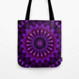 Mandala Crownchakra Tote Bag
