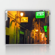 Nocturnal Alley - Valencia - Spain  Laptop & iPad Skin