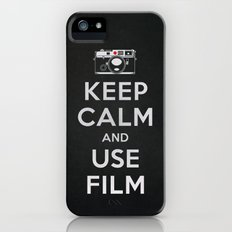 Keep Calm And Use Film iPhone (5, 5s) Slim Case