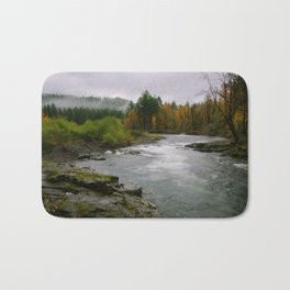 The Wilson River In The Tillamook National Forest Bath Mat
