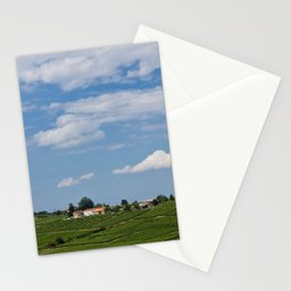 landscape in southern france Stationery Cards