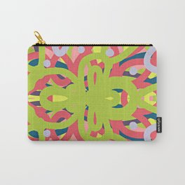 Geometrical- LIME Carry-All Pouch