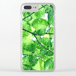 BEYOND THE CANOPY Clear iPhone Case