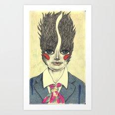 Random character Art Print