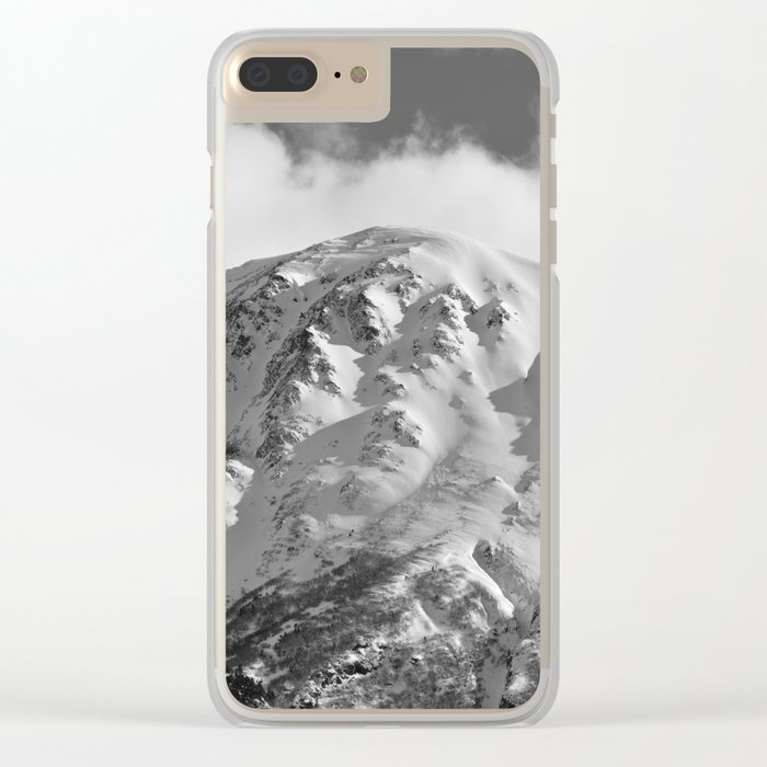 Snowy Alaskan Mountain - 2 Clear iPhone Case