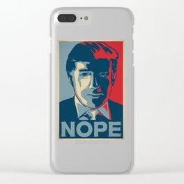 Trump Clear iPhone Case