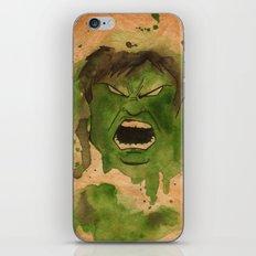 Smash iPhone Skin