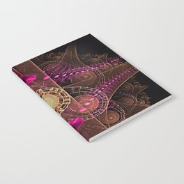 Abstract  Fractal 136    Notebook