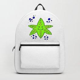 childishly Hand drawn starfish Backpack