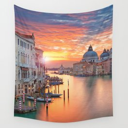 VENICE AT SUNRISE Wall Tapestry