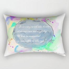 Little Prince World Rectangular Pillow