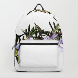 Rosemary With Flowers Backpack