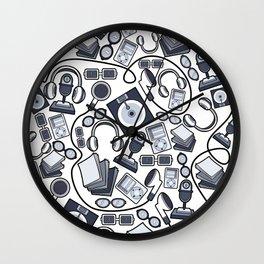 Music Stuff Wall Clock
