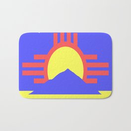 flag of Roswell Bath Mat