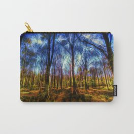 Forest Mystical Art Carry-All Pouch