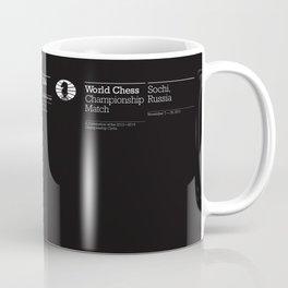 World Chess Championship Match Coffee Mug
